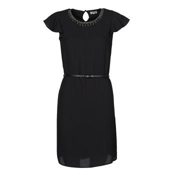 Υφασμάτινα Γυναίκα Κοντά Φορέματα Liu Jo WA1561-T9767-22222 Black