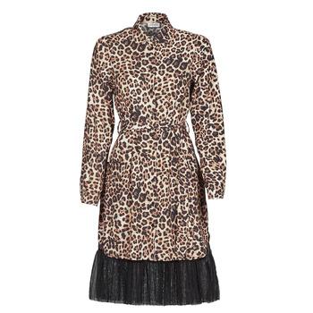 Υφασμάτινα Γυναίκα Κοντά Φορέματα Liu Jo WA1218-T9147-T9680 Leopard