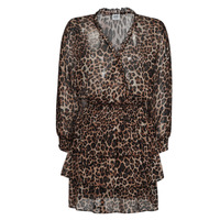Υφασμάτινα Γυναίκα Κοντά Φορέματα Liu Jo WA1530-T5059-T9680 Leopard