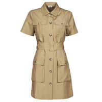 Υφασμάτινα Γυναίκα Κοντά Φορέματα Liu Jo WA1301-T4818-X0365 Beige