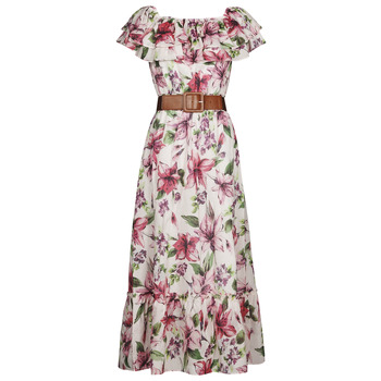 Υφασμάτινα Γυναίκα Μακριά Φορέματα Liu Jo WA1496-T5976-T9706 Fleuri