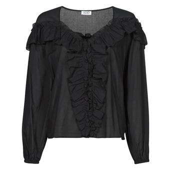 Υφασμάτινα Γυναίκα Μπλούζες Liu Jo WA1084-T5976-22222 Black
