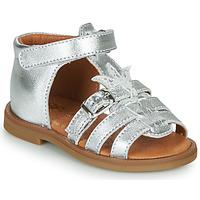 Παπούτσια Κορίτσι Σανδάλια / Πέδιλα GBB CARETTE Silver