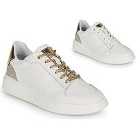 Παπούτσια Κορίτσι Χαμηλά Sneakers BOSS NILLA Άσπρο / Gold