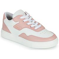 Παπούτσια Κορίτσι Χαμηλά Sneakers BOSS PAOLA Άσπρο / Ροζ
