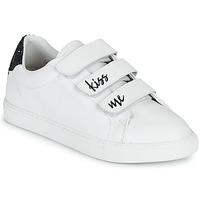 Παπούτσια Γυναίκα Χαμηλά Sneakers Bons baisers de Paname EDITH KISS ME Άσπρο