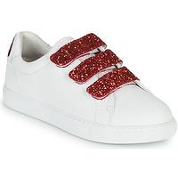 Παπούτσια Γυναίκα Χαμηλά Sneakers Bons baisers de Paname EDITH BACK LIPS Άσπρο