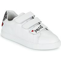 Παπούτσια Γυναίκα Χαμηλά Sneakers Bons baisers de Paname EDITH SWEET HEART Άσπρο