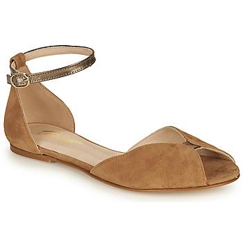Παπούτσια Γυναίκα Σανδάλια / Πέδιλα Betty London INALI Camel