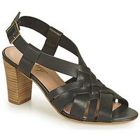 Παπούτσια Γυναίκα Σανδάλια / Πέδιλα Betty London OCHAT Black