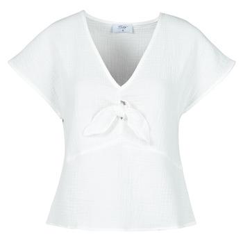 Υφασμάτινα Γυναίκα Μπλούζες Betty London ODIME Άσπρο