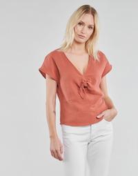 Υφασμάτινα Γυναίκα Μπλούζες Betty London ODIME  terracotta