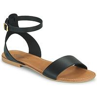 Παπούτσια Γυναίκα Σανδάλια / Πέδιλα Betty London GIMY Black