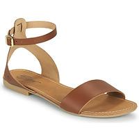 Παπούτσια Γυναίκα Σανδάλια / Πέδιλα Betty London GIMY Camel