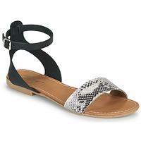 Παπούτσια Γυναίκα Σανδάλια / Πέδιλα Betty London GIMY Black / Grey