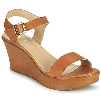 Παπούτσια Γυναίκα Σανδάλια / Πέδιλα Betty London CHARLOTA Camel