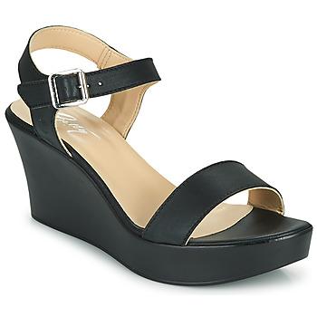 Παπούτσια Γυναίκα Σανδάλια / Πέδιλα Betty London CHARLOTA Black