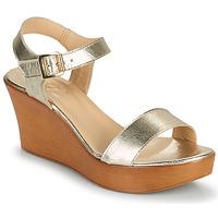 Παπούτσια Γυναίκα Σανδάλια / Πέδιλα Betty London CHARLOTA Gold