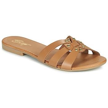 Παπούτσια Γυναίκα Τσόκαρα Betty London OISO Camel