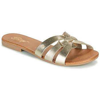 Παπούτσια Γυναίκα Τσόκαρα Betty London OIGILE Gold