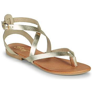 Παπούτσια Γυναίκα Σανδάλια / Πέδιλα Betty London OPALACE Gold