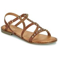 Παπούτσια Γυναίκα Σανδάλια / Πέδιλα Betty London OVADE Camel