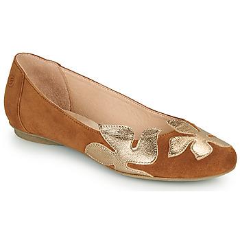 Παπούτσια Γυναίκα Μπαλαρίνες Betty London ERUNE Camel / Gold