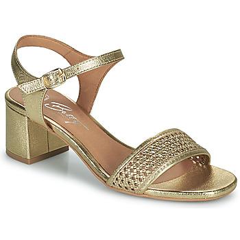 Παπούτσια Γυναίκα Σανδάλια / Πέδιλα Betty London OUPETTE Gold