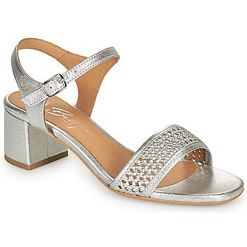 Παπούτσια Γυναίκα Σανδάλια / Πέδιλα Betty London OUPETTE Silver