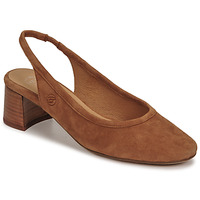 Παπούτσια Γυναίκα Γόβες Betty London OMMINE Cognac