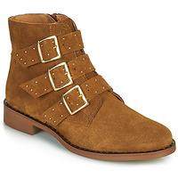 Παπούτσια Γυναίκα Μπότες Betty London LYS Cognac