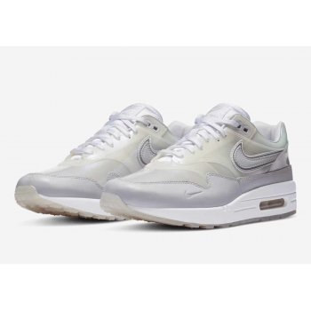 Παπούτσια Χαμηλά Sneakers Nike Air Max 1 Sneaker Day White White/ Silver Metallic