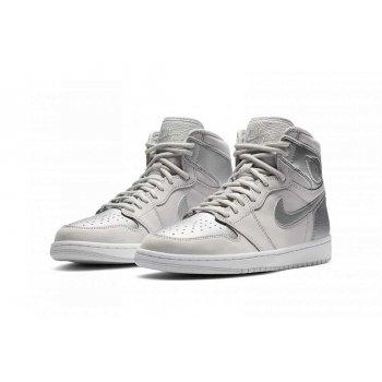 Παπούτσια Ψηλά Sneakers Nike Air Jordan 1 Japan Silver Neutral Grey/White/Metallic Silver