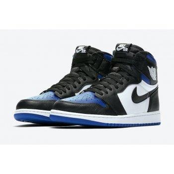 Παπούτσια Ψηλά Sneakers Nike Air Jordan 1 Game Royal Black/White-Game Royal-Black