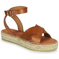 Παπούτσια Γυναίκα Σανδάλια / Πέδιλα Minelli TRONUIT Brown