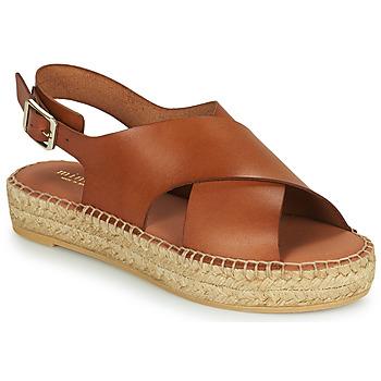 Παπούτσια Γυναίκα Σανδάλια / Πέδιλα Minelli MOULTI Brown