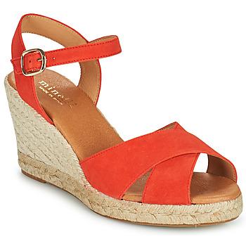 Παπούτσια Γυναίκα Σανδάλια / Πέδιλα Minelli OMELLA Red