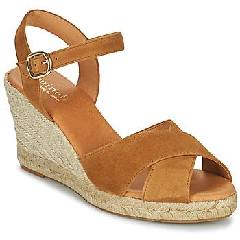 Παπούτσια Γυναίκα Σανδάλια / Πέδιλα Minelli VELOCUIR Brown