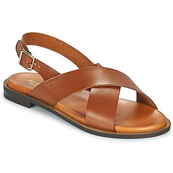Παπούτσια Γυναίκα Σανδάλια / Πέδιλα Minelli ANATOLA Brown