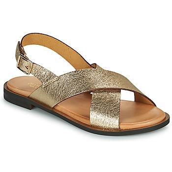 Παπούτσια Γυναίκα Σανδάλια / Πέδιλα Minelli DONA Gold