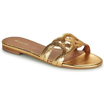 Παπούτσια Γυναίκα Τσόκαρα Minelli NANCIA Gold