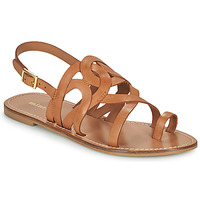 Παπούτσια Γυναίκα Σανδάλια / Πέδιλα Minelli MATERIE Brown