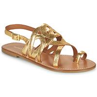 Παπούτσια Γυναίκα Σανδάλια / Πέδιλα Minelli MATERIE Gold