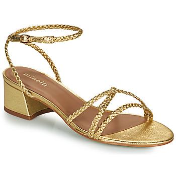 Παπούτσια Γυναίκα Σανδάλια / Πέδιλα Minelli HARIETTE Gold