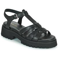 Παπούτσια Γυναίκα Σανδάλια / Πέδιλα Minelli HELLHA Black