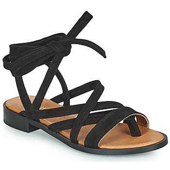 Παπούτσια Γυναίκα Σανδάλια / Πέδιλα Minelli HURIA Black
