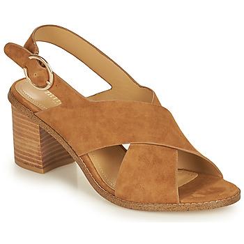 Παπούτσια Γυναίκα Σανδάλια / Πέδιλα Minelli CASIMIERA Brown
