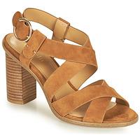 Παπούτσια Γυναίκα Σανδάλια / Πέδιλα Minelli CLAVIA Brown
