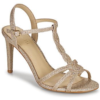 Παπούτσια Γυναίκα Σανδάλια / Πέδιλα Minelli CHADA Gold