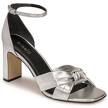 Παπούτσια Γυναίκα Σανδάλια / Πέδιλα Minelli TREPHINNE Silver